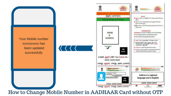How to Change Mobile Number in AADHAAR Card without OTP